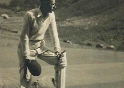 Douglas Witney Jones - February 1919 - January 2000 Former Lynton Cricketer